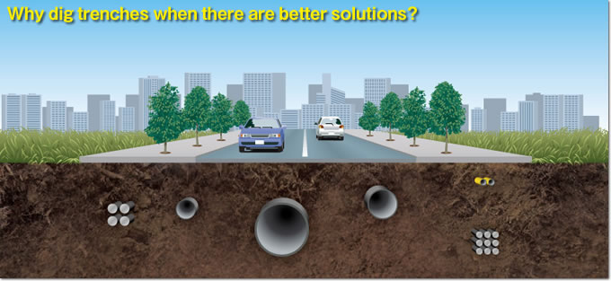 Why dig trenches when there are better solutions?